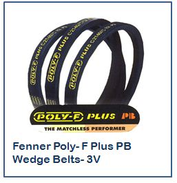 Fenner Poly- F Plus PB Wedge Belts- 3V