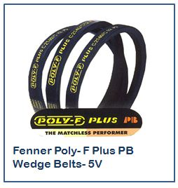 Fenner Poly- F Plus PB Wedge Belts- 5V