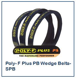 Fenner Poly- F Plus PB Wedge Belts- SPB