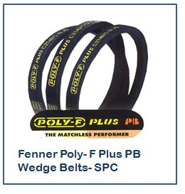 Fenner Poly- F Plus PB Wedge Belts- SPC