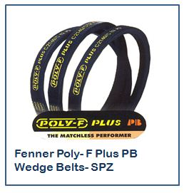Fenner Poly- F Plus PB Wedge Belts- SPZ