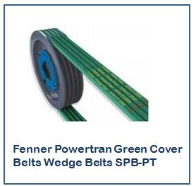 Fenner Powertran Green Cover Belts Wedge Belts SPB-PT