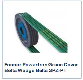 Fenner Powertran Green Cover Belts Wedge Belts SPZ-PT