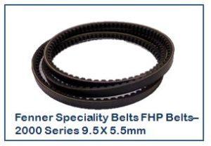 Fenner Speciality Belts FHP Belts–2000 Series 9.5 X 5.5mm