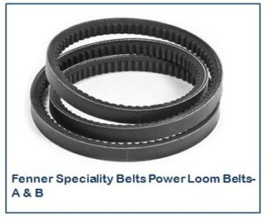 Fenner Speciality Belts Power Loom Belts- A & B
