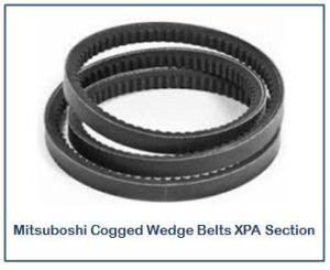 Mitsuboshi Cogged Wedge Belts XPA Section