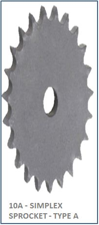 10A - SIMPLEX SPROCKET - TYPE A 2