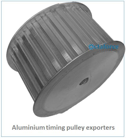 Aluminium timing pulley exporter
