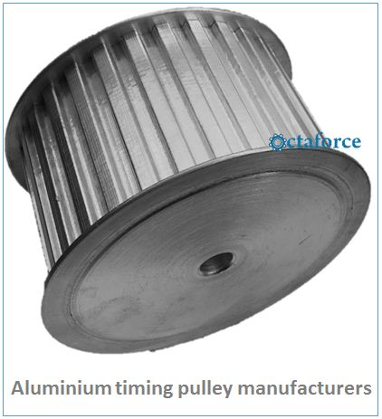 Aluminium timing pulley manufacturer