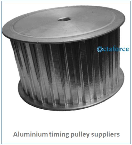 Aluminium timing pulley supplier