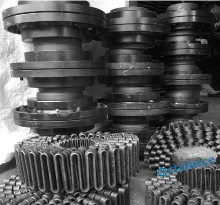 Spring type couplings