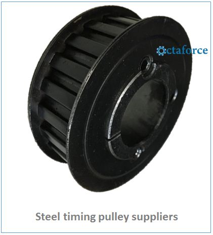 Steel timing pulley supplier