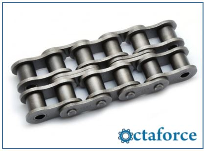 Roller Chain- ANSI Standard Double-Strand Roller Chain