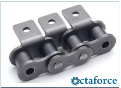 ANSI Standard Roller Chain – A-1 Attachment- Roller Chain
