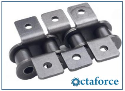 ANSI Standard Roller Chain – K-1 Attachment- Roller Chain