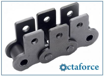 ANSI Standard Roller Chain – SK-1 Attachment- Roller Chain