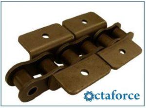 ANSI Standard Roller Chain – WK-1 Wide Contour Attachment - Attachment Chain