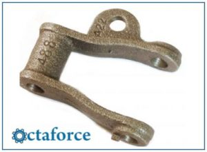 Cast 400 Class Pintle Chain – A-22 Attachment - Engineering Chains