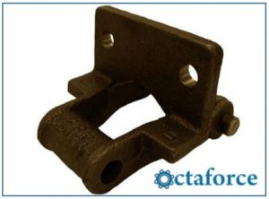 Cast 400 Class Pintle Chain – F-2 Attachment - Engineering Chains