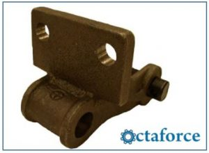 Cast 400 Class Pintle Chain – F-29 Attachment - Engineering Chains