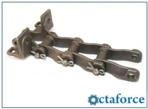 Cast H-Type Mill Chain – F-4 Attachment - Agricultural chain