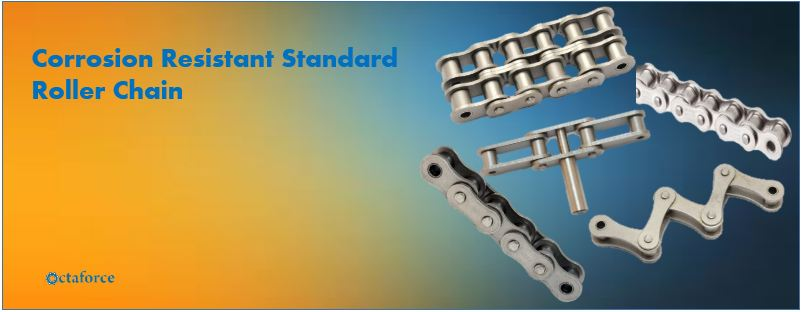 Corrosion Resistant Standard Roller Chain