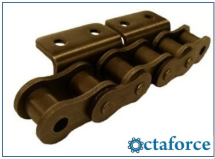 ISO British Standard Chain with Attachments WA-2- Roller Chain