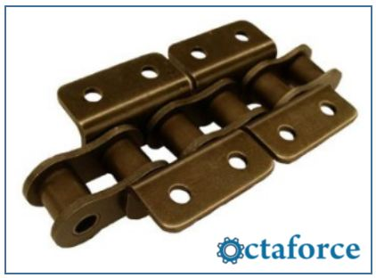 ISO British Standard Chain with Attachments WK-2- Roller Chain