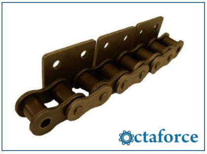 ISO British Standard Chain with Attachments WSA-2- Roller Chain