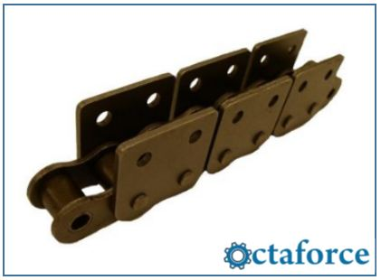 ISO British Standard Chain with Attachments WSK-2- Roller Chain