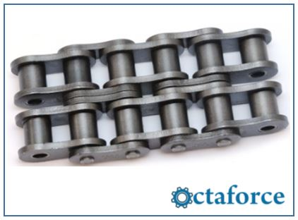 ISO British Standard Double Strand Chain- Roller Chain