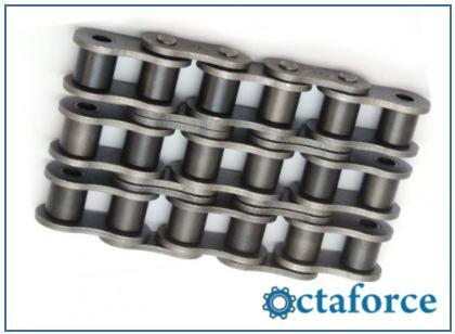 ISO British Standard Triple Strand Chain- Roller Chain