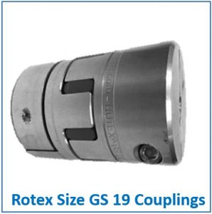 Rotex Size GS 19 Coupling